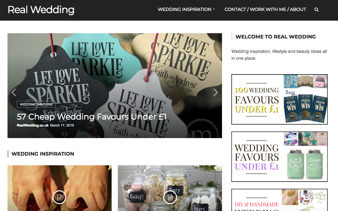 Blogger Outreach Success Story: RealWedding.co.uk