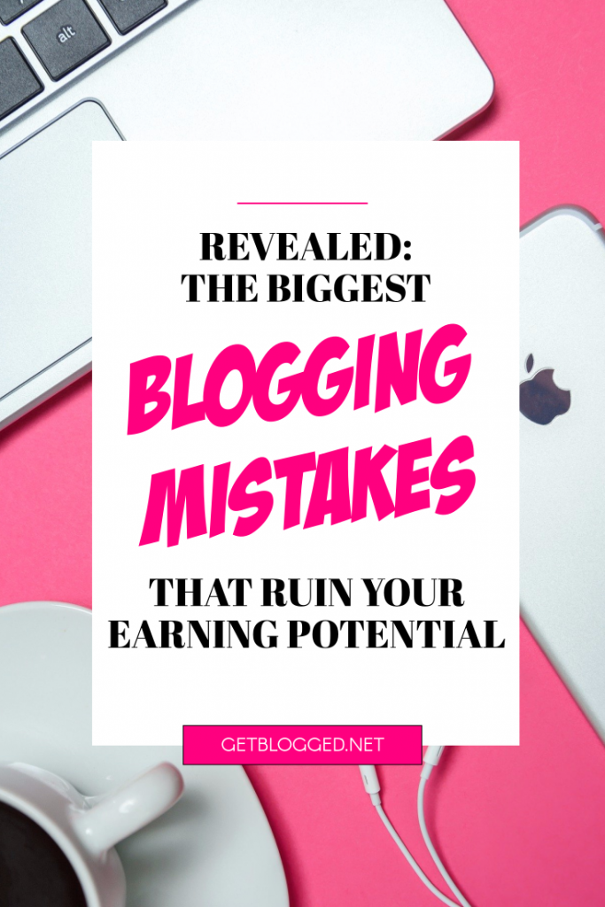 blogging mistakes pin