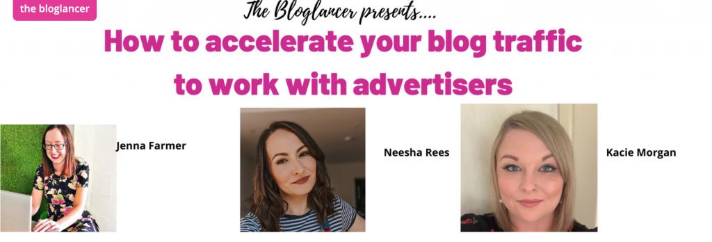 the bloglancer event