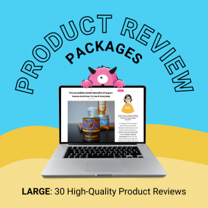 large product review package